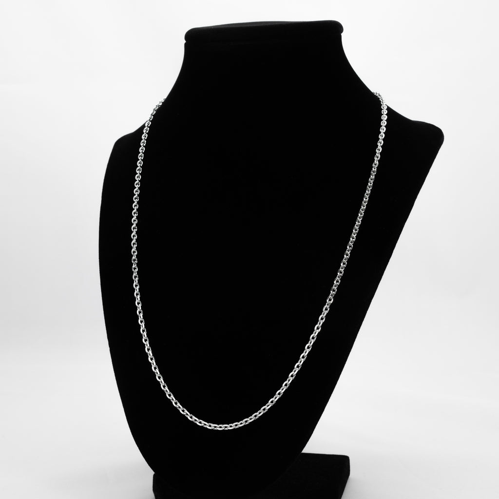 925 Sterling Silver Cable Link Chain