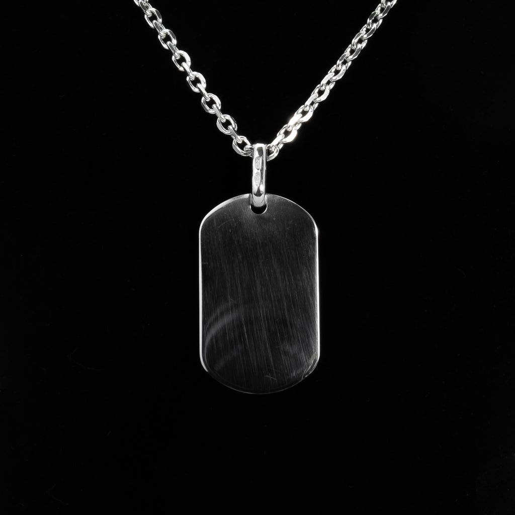 925 Sterling Silver Dog Tags