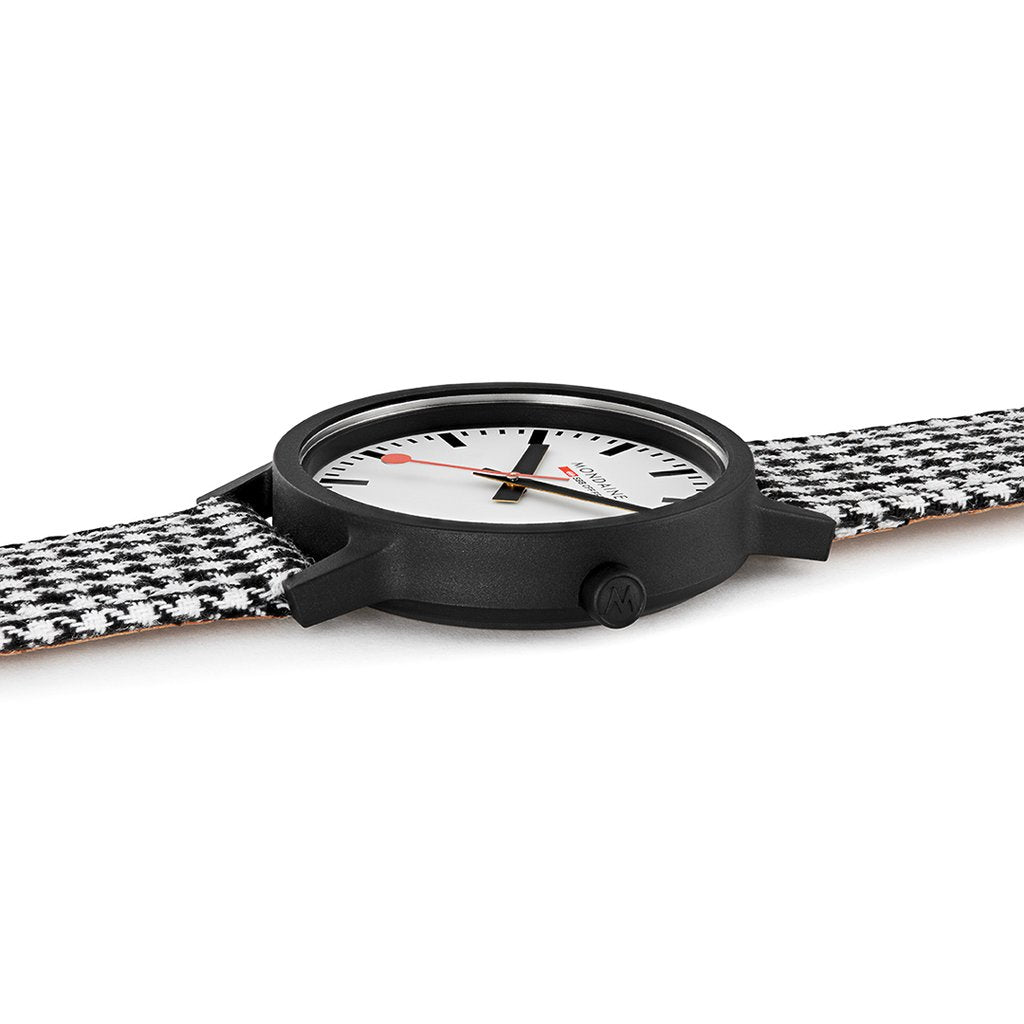 Mondaine Sustainable Harringbone 41mm