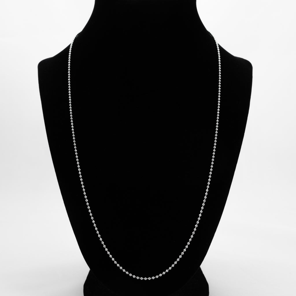 925 Sterling Silver Ball Chain