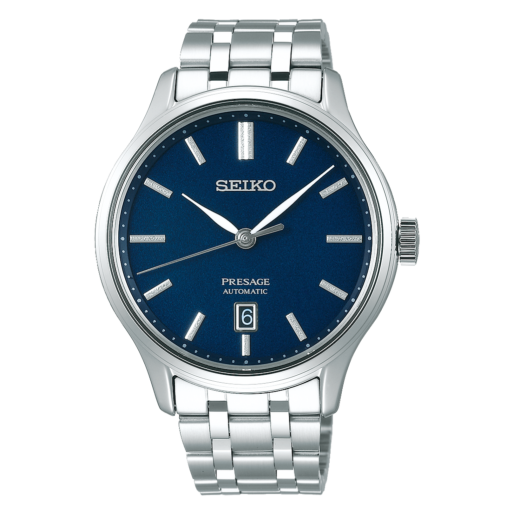 Seiko Presage with Sapphire Crystal