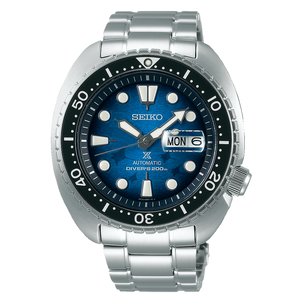 "Seiko Prospex Manta Ray ""Save the Ocean"" King Turtle"