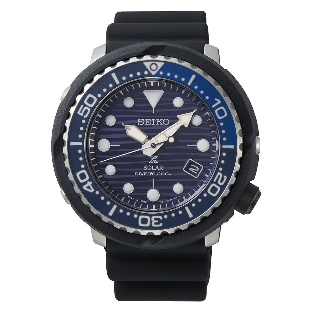 "Seiko Prospex ""Save the Ocean"" Tuna Blue"