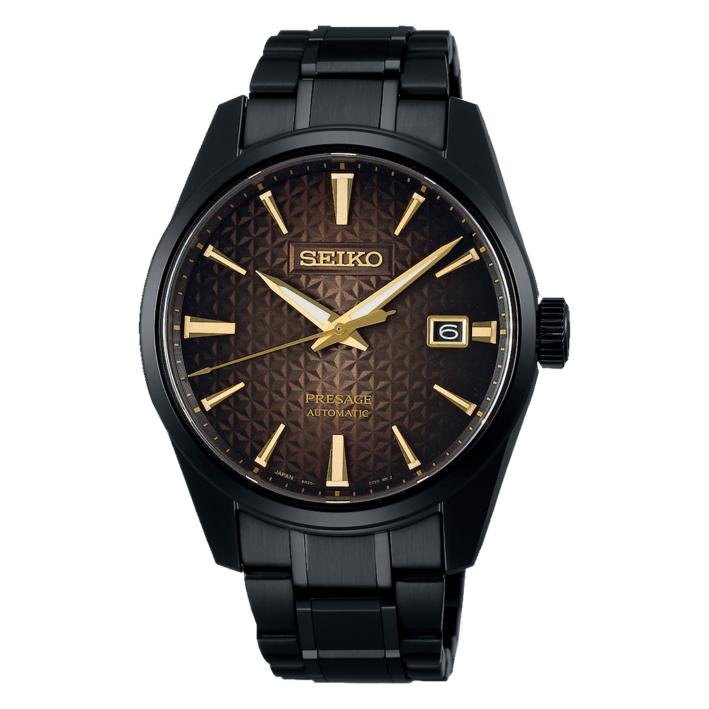"Seiko Presage Sharp Edge PVD ""140th Anniversary"" L/E"