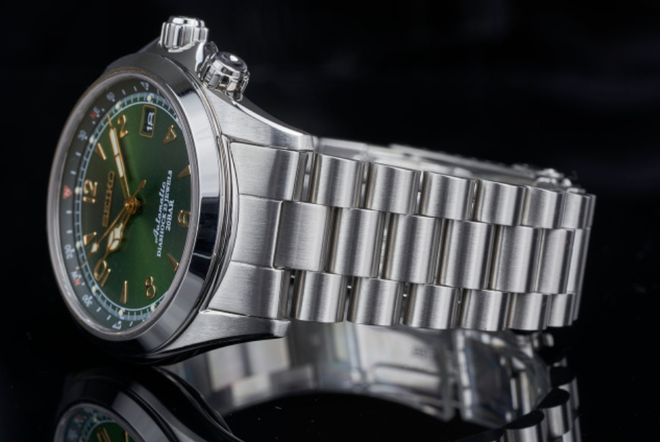 Uncle Seiko President Bracelet for Alpinist
