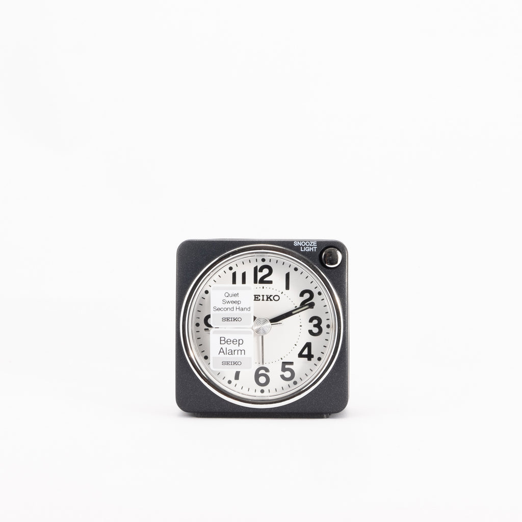 Seiko QHE118K Travel Alarm Clock