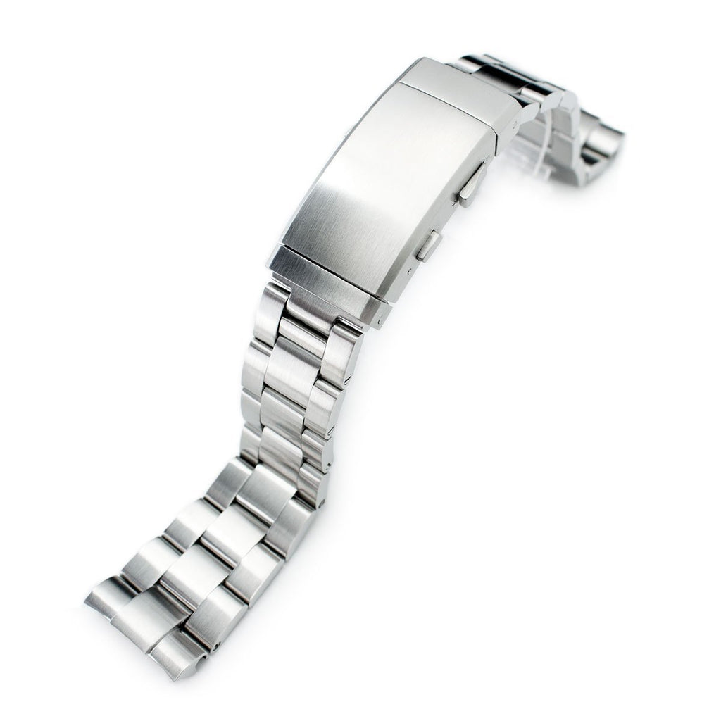 Super-O Boyer 316L Steel Bracelet Ratchet Buckle for Seiko Turtles