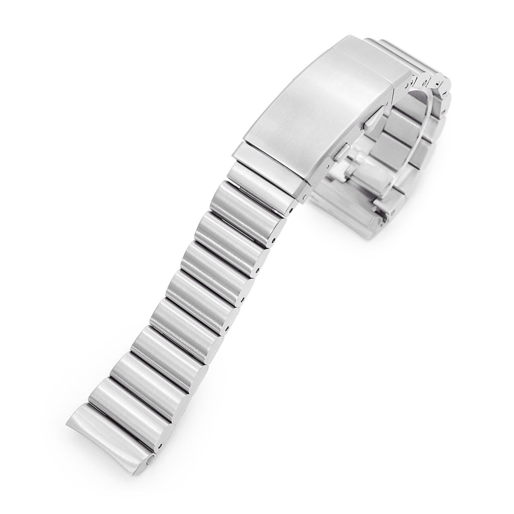 Bandoleer 316L Steel Bracelet Ratchet Buckle for Seiko Turtles