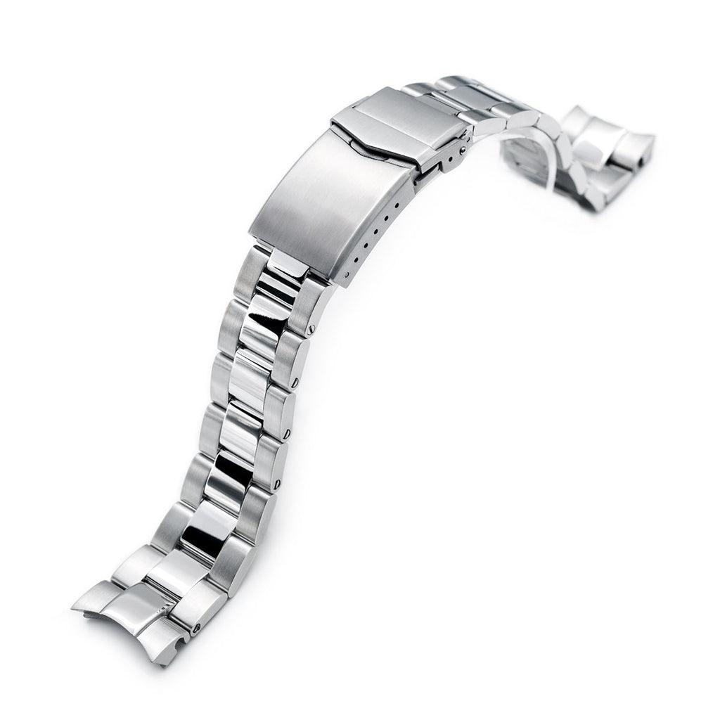 Super-O Boyer Polished watch band for Seiko Alpinist