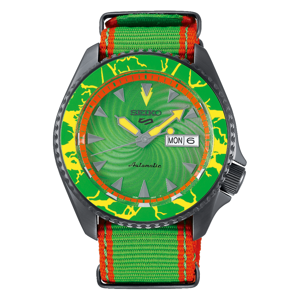 "Seiko 5 Sports Street Fighter L/E ""BLANKA"""