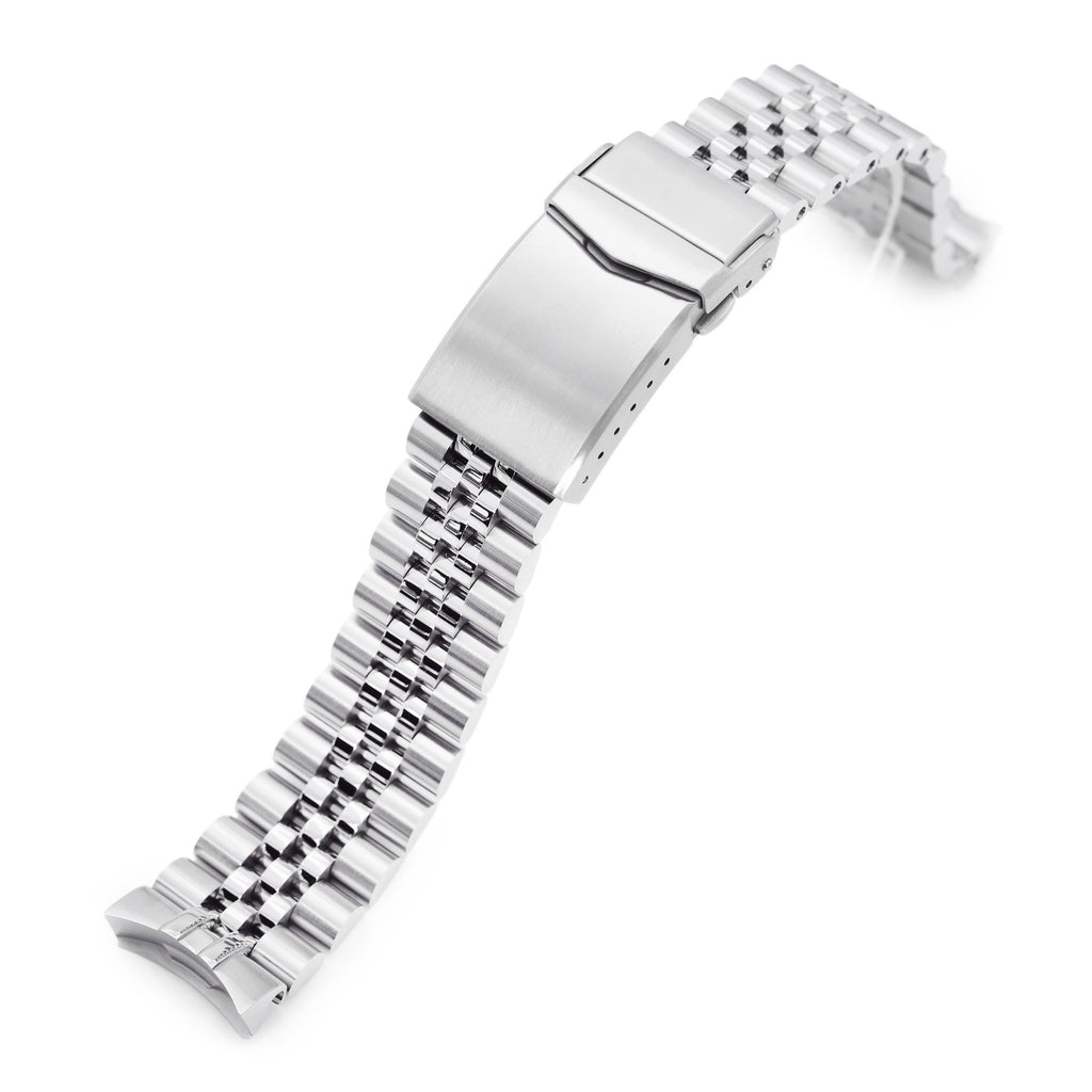 Super-J Louis Stainless Steel Watch Band for New Seiko 5 SRPE