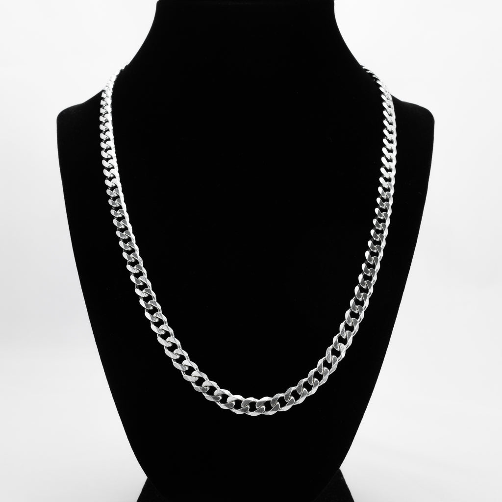 925 Sterling Silver Cuban Link Chain