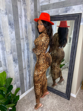 Load image into Gallery viewer, Ebony Leopard Dress
