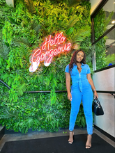 Load image into Gallery viewer, Tiara Denim Jumpsuit