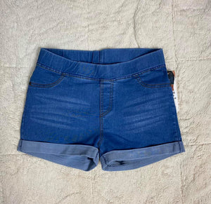 Stretchy Denim Shorts