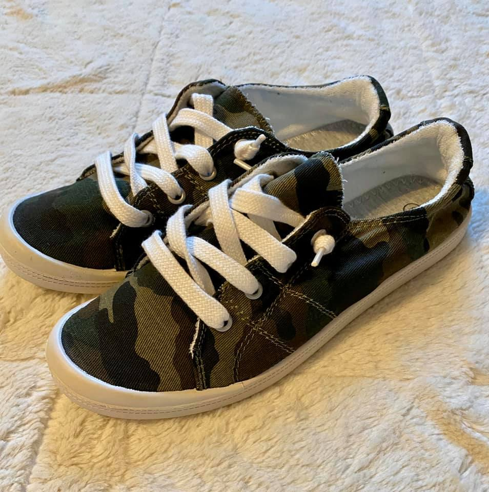 Camo Comfort Shoes