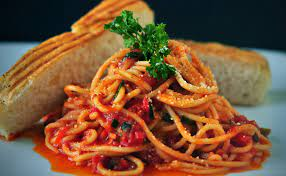 Divella Spaghetti with Sun dried Tomatoes.