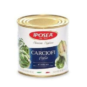 Artichokes Romana with Stem (Tin) by Iposea, 3 kg - 105.8 oz
