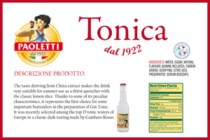 Tonica, 250 ml - 8.4 oz