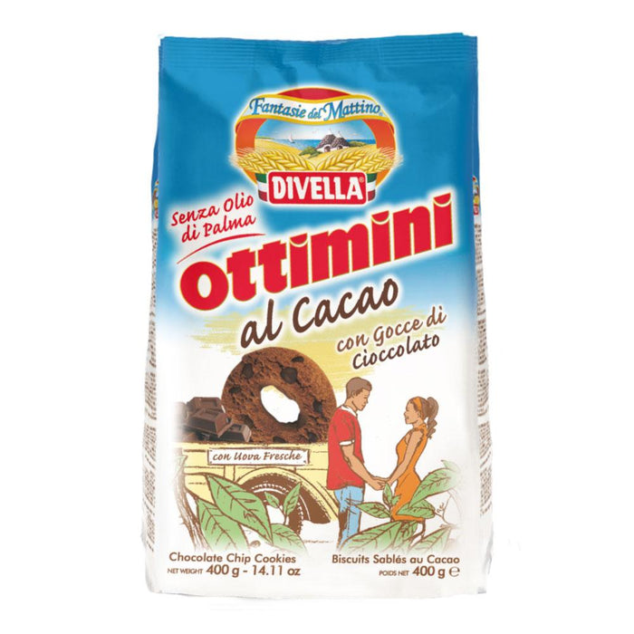 Chocolate Ottimini - Biscotti, 400 g - 14.11 oz