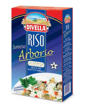 A pack of Divella arborio rice for itallian risotto, 1 kg - 2.2 lb