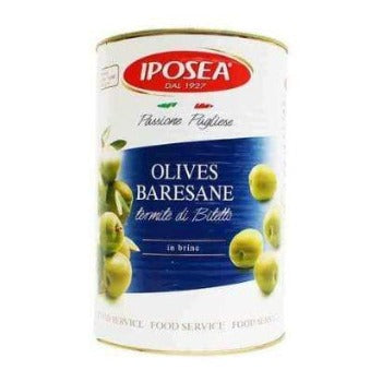 Olives Baresane (Tin), 4.25 kg, 150 oz