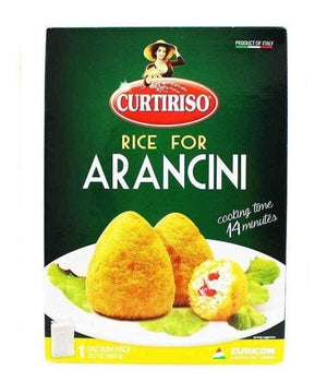 Box of arancini rice balls