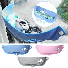 Load image into Gallery viewer, Hot Sale Pet Hammock Beds Bearing 20kg Cat Window Lounger Suction Hammock Pet Cat Window shelf Comfortable Cat-Ferret Pet Bed