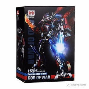 Black Mamba BMB LS03 MPM04 Transformation Movie Anime Figure Model Deformable Car OP Commander OverSize 32cm Toy For Child