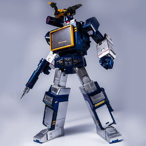Transformation G1 THF THF01J Soundwave One Tape Walkman MasterPiece KO MP13 Oversize 23CM Alloy Action Anime Figure Robot Toys