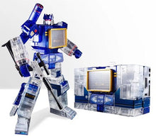 Load image into Gallery viewer, Transformation G1 THF THF01J Soundwave One Tape Walkman MasterPiece KO MP13 Oversize 23CM Alloy Action Anime Figure Robot Toys