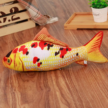 Load image into Gallery viewer, Pet Soft Plush Creative 3D Carp Fish Shape Cat Toy Gifts Catnip Fish Stuffed Pillow Doll Simulation Fish Playing Toy For Pet