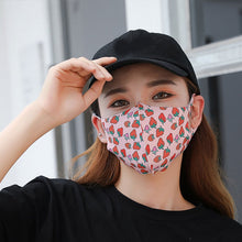 Load image into Gallery viewer, Men Women Hip Hop Mouth Mask Fashion Reusable Ice Silk Mask Creative Cotton Cool Travel Decorative Print Dustproof Mask