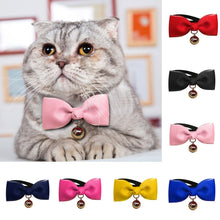 Load image into Gallery viewer, Dog Bows Classic Pet Dog Cat Bowtie Pet Tie Polyester Necktie Pet Decoration Collar Pet Supplies Accesorios