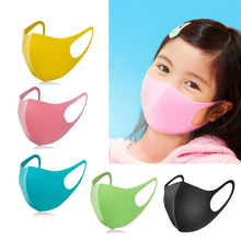 Load image into Gallery viewer, 3Pcs Kid Sponge Anti Dust Face Mask Washable Reusable Sponge Mouth Mask Children Antibacterial dustproof