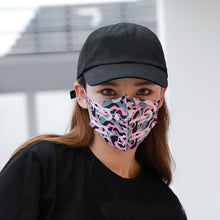 Load image into Gallery viewer, Women Dust Mask Breathable Cotton Fashion Black Pink Reusable Face Maske High Quality Pollution Washable Mouth Face Mask