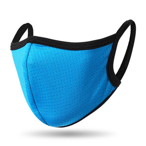 Breathable 3D Black Mask Cotton Mask Men Women Dustproof Face Mouth Mask Blue Yellow Summer Dust-proof Outdoor Masks