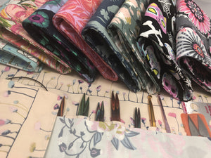 Knitting Needle Rolls - EcoHip Custom Designs