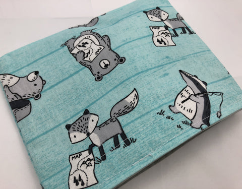 Animal Snack Bag, Kid's School Snack Baggie, Animal Lunchboxes - EcoHip Custom Designs