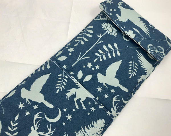 Curling Iron Case, Hair Straightener Sleeve, Iron Bag, Animals - EcoHip Custom Designs