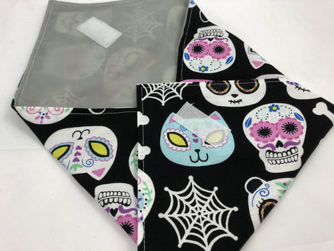 Eco-Friendly Sandwich Bag Wrap, Day of the Dead, Animals - EcoHip Custom Designs