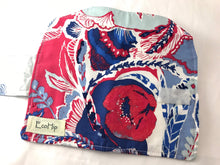 Load image into Gallery viewer, Red Tampon Holder, Blue Shark Week Wallet, Women's Privacy Case - EcoHip Custom Designs
