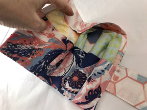 Blue Sanitary Pad Holder, Rose Pink Tampon Wallet Case - EcoHip Custom Designs