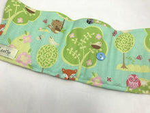 Load image into Gallery viewer, Owl Crayon Organizer, Green Animal Crayon Caddy, Blue Crayon Holder - EcoHip Custom Designs