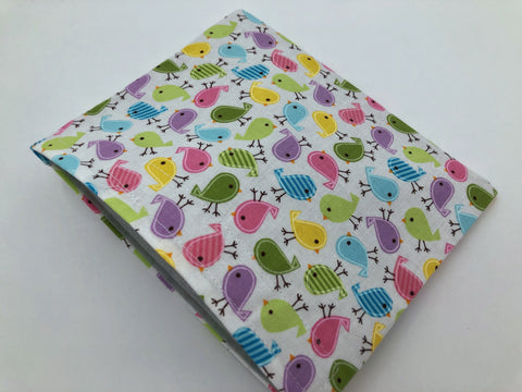 Birds Snack Bag, Girl's Reusable Snack Baggie, Eco-Friendly School Lunch - EcoHip Custom Designs