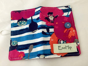 Custom for John, Travel Tea Bag Wallet, Eight Pockets - EcoHip Custom Designs