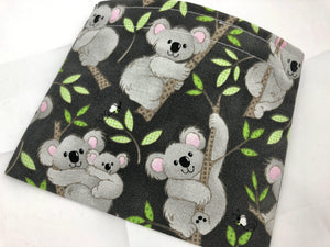 Koala Bear Snack Bag, Kid's Snack Baggie, Eco-Friendly School Lunch - EcoHip Custom Designs