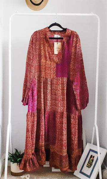 Cofur boho maxi dress