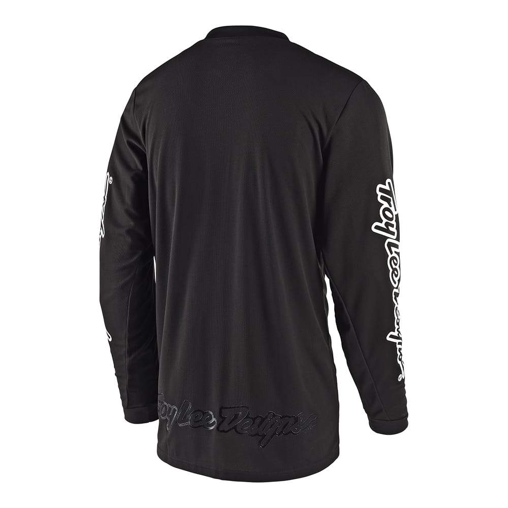 YOUTH GP JERSEY MONO BLACK