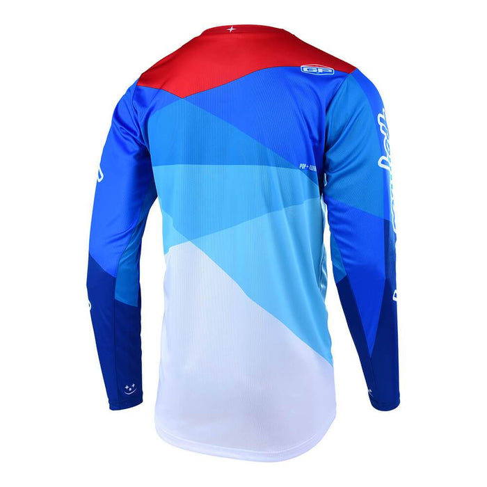 GP AIR JERSEY JET WHITE / BLUE